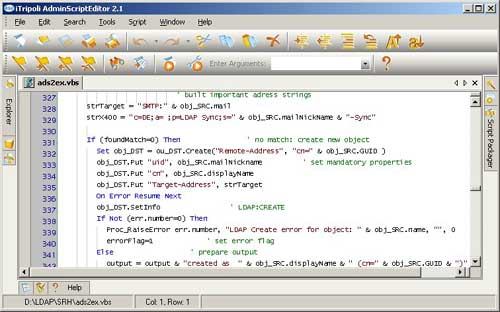 ASE Editor ScreenShot